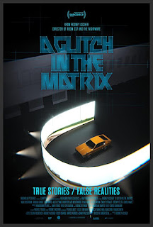 yellow car in a black room surrounded by a 180 degree view screen