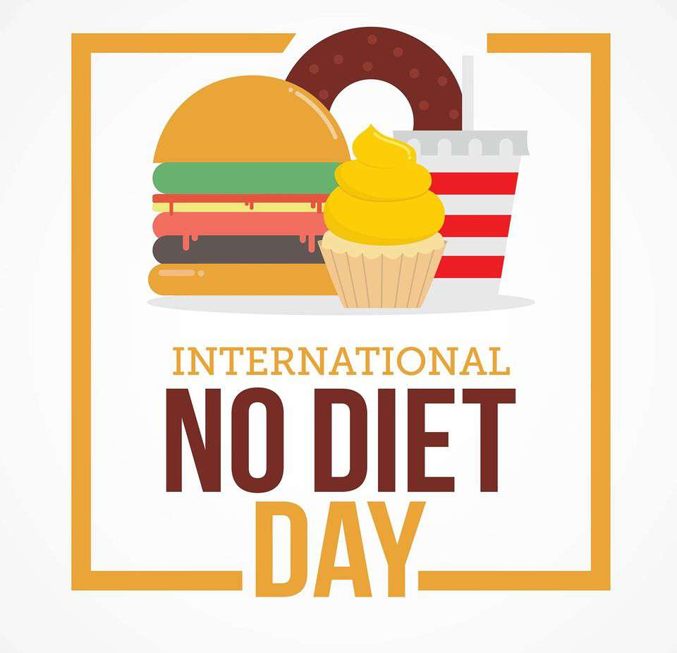 International No Diet Day Wishes Images download