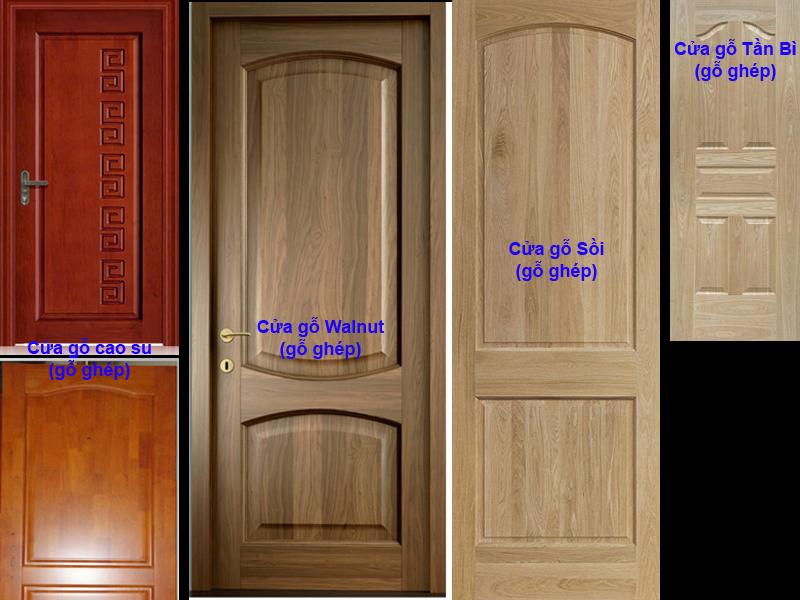 Ghép cửa gỗ