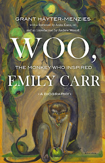 Cover of Woo, the Monkey Who Inspired Emily Carr