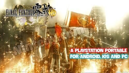 Final Fantasy Type-0 PSP