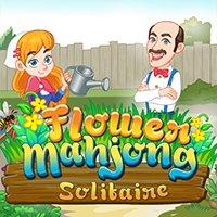 jogo Flower Mahjong Solitaire online