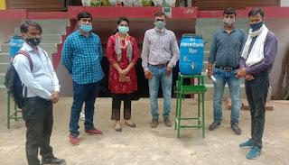 सीतापुर : आगा खान फाउंडेशन ने ग्राम पंचायतों को बाटी हैंडवॉश किट