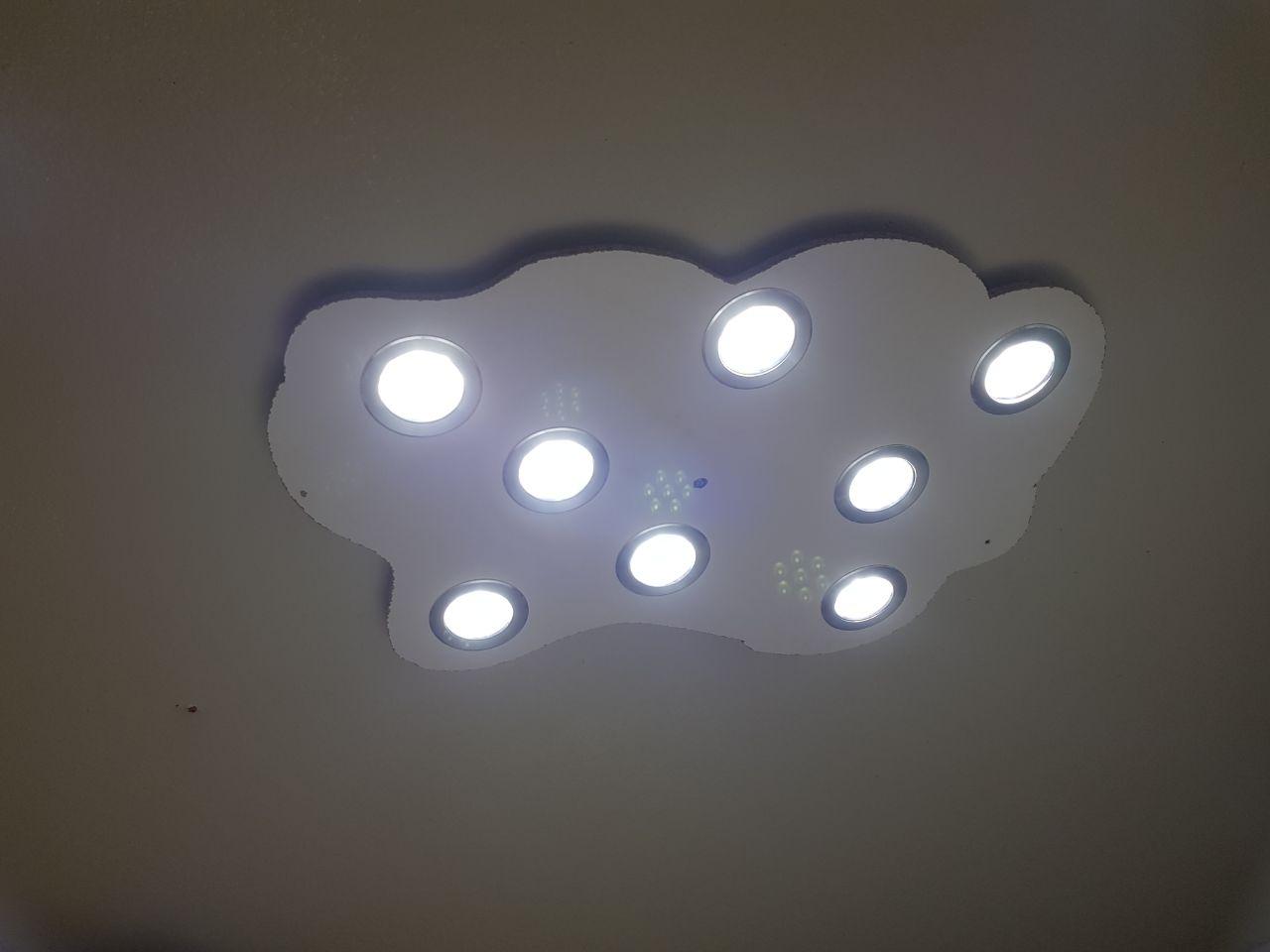 lahr2006 testet: Hengda® 8er 7W LED Spot Einbauleuchte Kaltweiß ...
