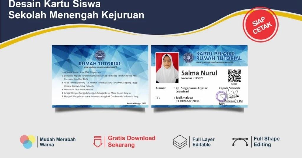 Download Kartu Siswa : Contoh Desain Desain Kartu Pelajar ...