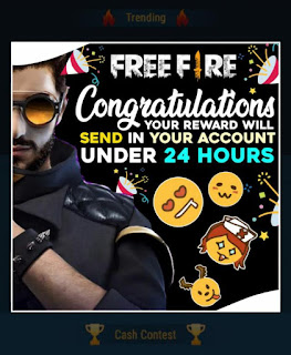 Successfully Participated In Free Fire Diamonds Event