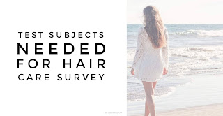 Hair care survey by Michele Clarke