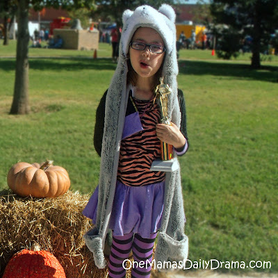 Last-minute costume: Monster High | One Mama's Daily Drama