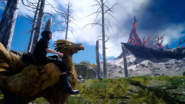 Primera comparación de rendimiento: Final Fantasy XV- PS4 VS. PS4 Pro