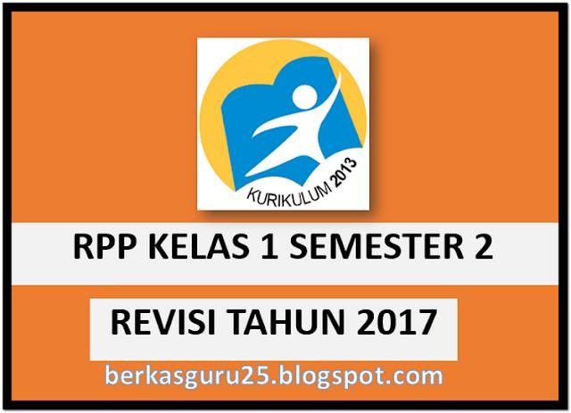File Pendidikan RPP Kelas 1 SD Tema 5 s/d 8 Kurikulum 2013 Revisi
