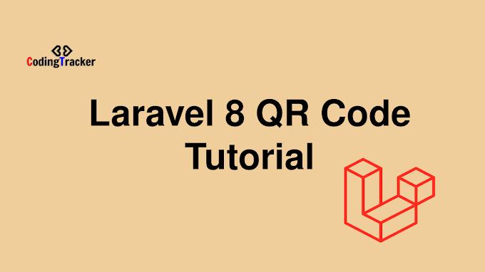 Laravel 8 QR Code Generate Tutorial