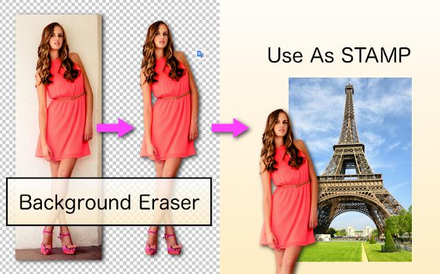 ছবির ব্যাকগ্রাউন্ড রিমুভ করার অ্যাপস Background Eraser apps