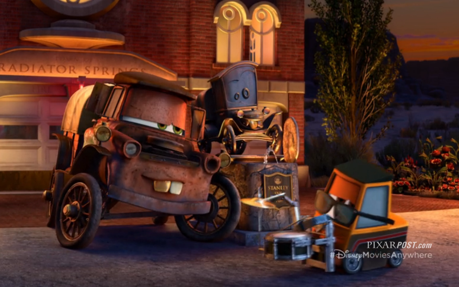 exclusive review  radiator springs   characters  die cast cars  details