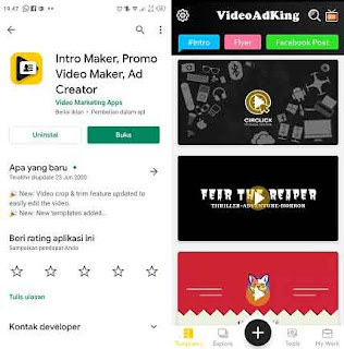 aplikasi pembuat intro youtube gratis tanpa watermark