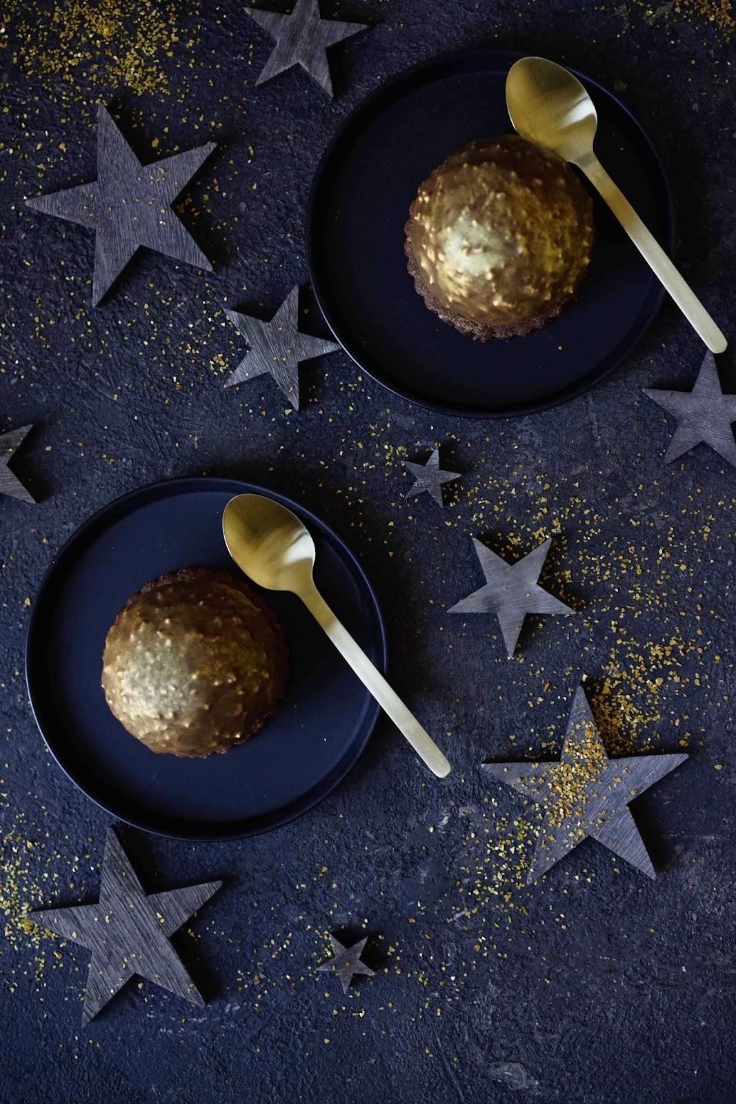 glaçage rocher , dessert de fêtes , recettes festives , dessert au chocolat