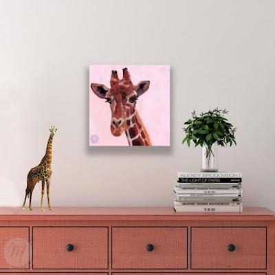 giraffe-painting-merrill-weber