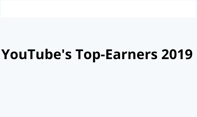Youtubers with the Top Revenue