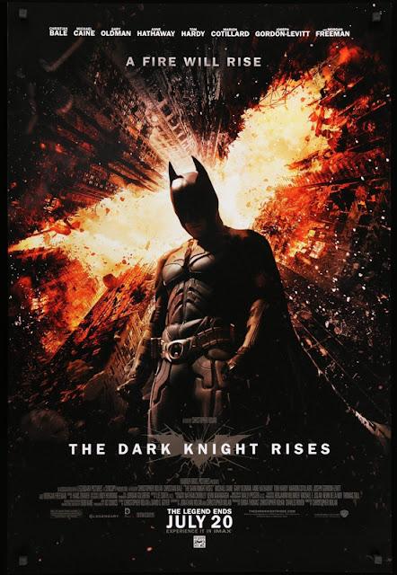 The Dark Knight Rises. 2012. Christian Bale as Batman. Anne Hathaway as Catwoman