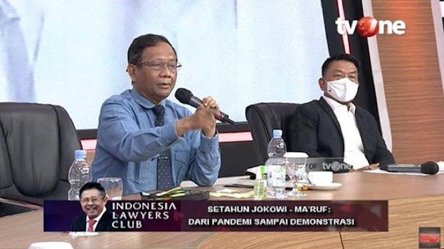 "Mahfud MD Sebut Presiden-Presiden Langgar Pancasila, ""Yang Sekarang juga Sama"""