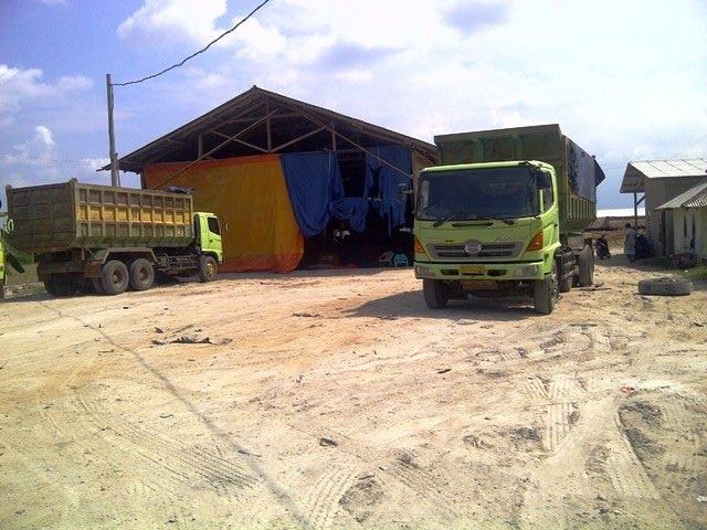 Tanah Bekas Pabrik dijual Murah di dekat Pelabuhan Bakauheni, Lampung Selatan