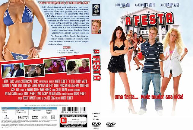 Capa DVD A Festa
