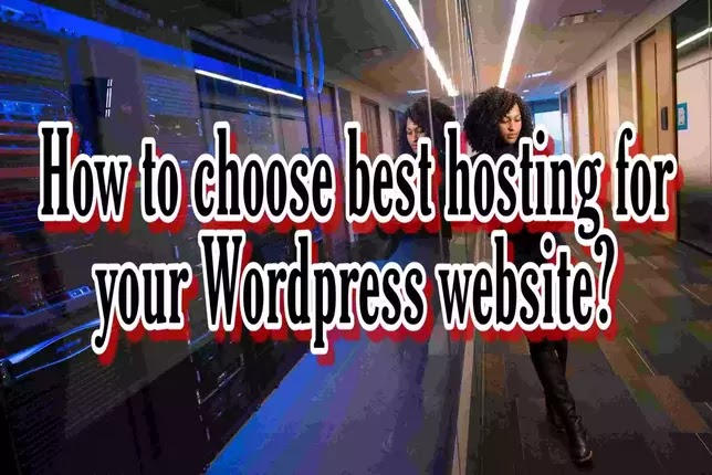 Searching for web hosting