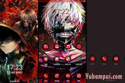 download tema xiaomi tokyo ghoul kaneki touka