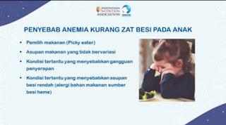Penyebab anak mengalami anemia