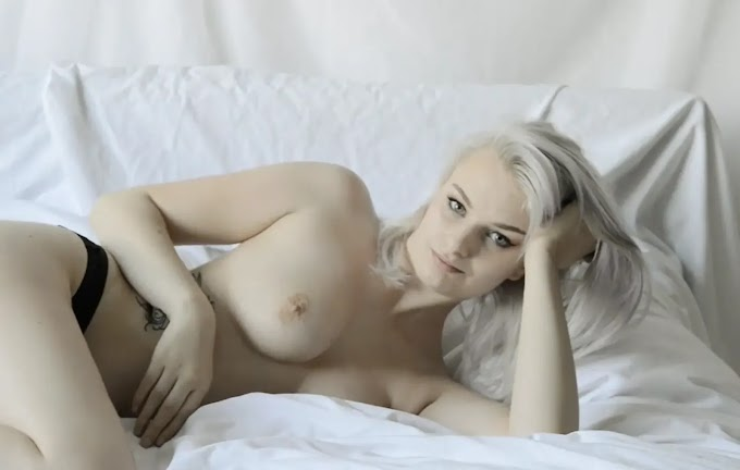 First nude photoshoot of model Teal