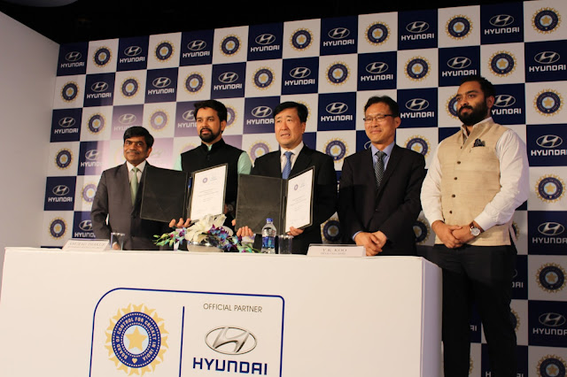 Hyundai Becomes The Official Partner Of BCCI