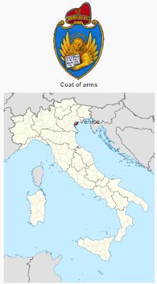 Βενετία Ιταλία χάρτης