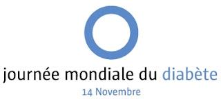 Le logo de la Journée Mondiale du Diabète-2016