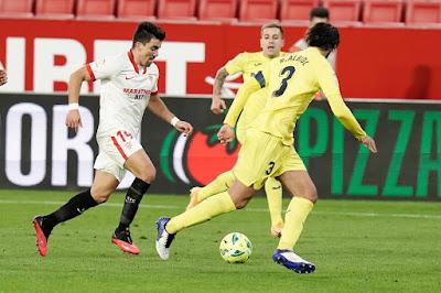 ملخص واهداف مباراة اشبيلية وفياريال (2-0) الدوري الاسباني
