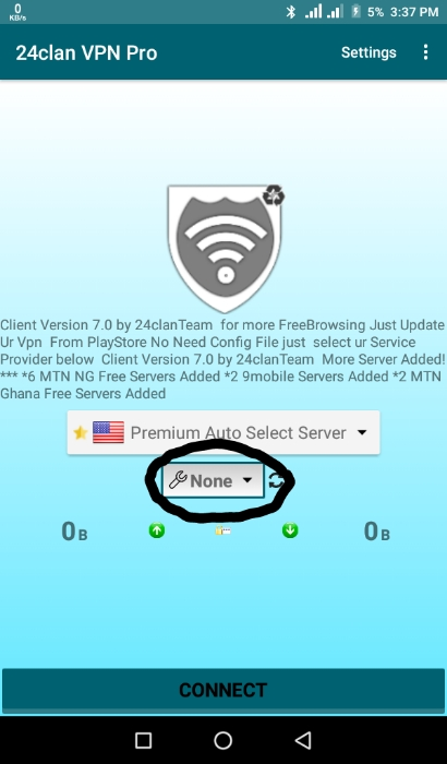 24clan VPN Pro Settings | Config File and Apk