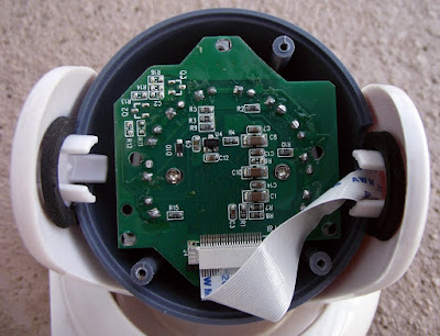Video babá eletrônica - Placa camera