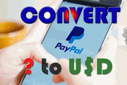 Cara Konversi Mata Uang Lain ke Dollar AS (USD) di PayPal via Android