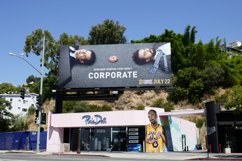 Corporate season 3 billboard