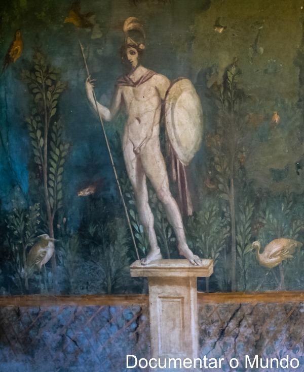 Casa della Venere in Conchiglia, Pompeia, Itália