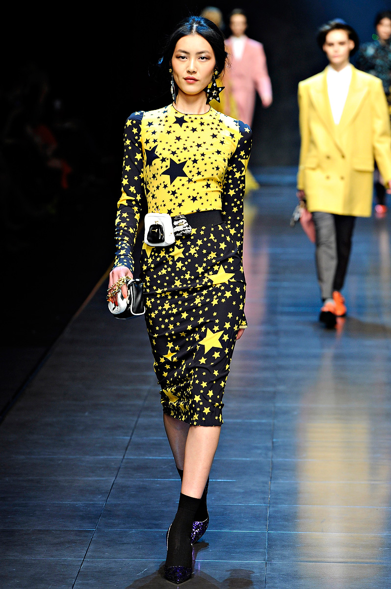 Dolce K Set: Fashion Gossip: Seeing Stars This Fall 'Dolce & Gabbana