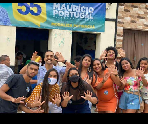 POTIRAGUÁ: MAURÍCIO PORTUGAL INAUGURA COMITÊ EM ITAIMBÉM (COREA) E FAZ VISITA AOS MORADORES.