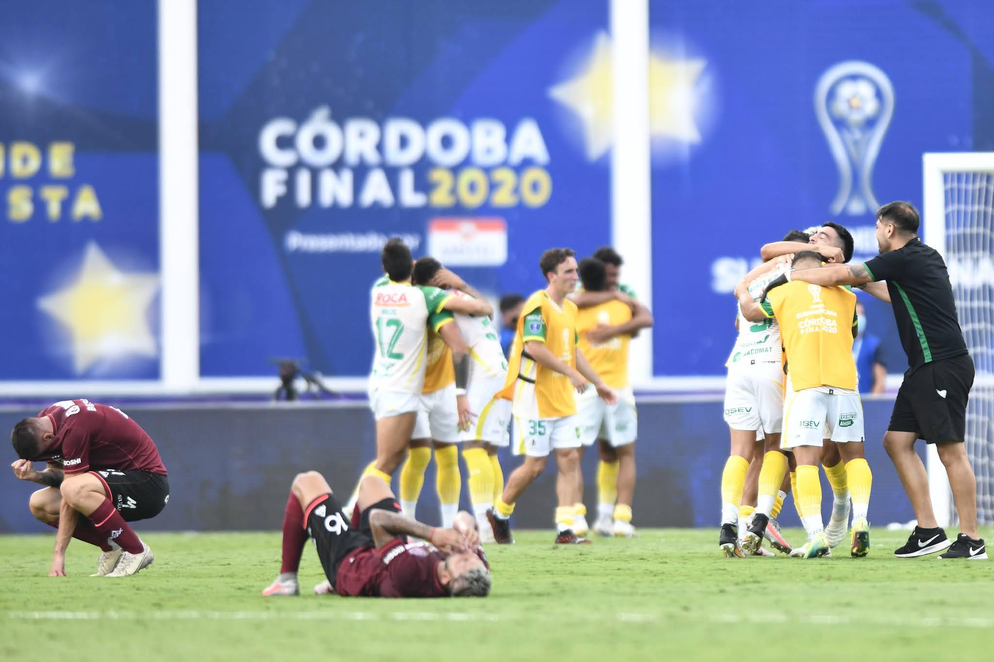 Defensa y Justicia dominó a Lanús y es merecido campeón de la Copa Sudamericana