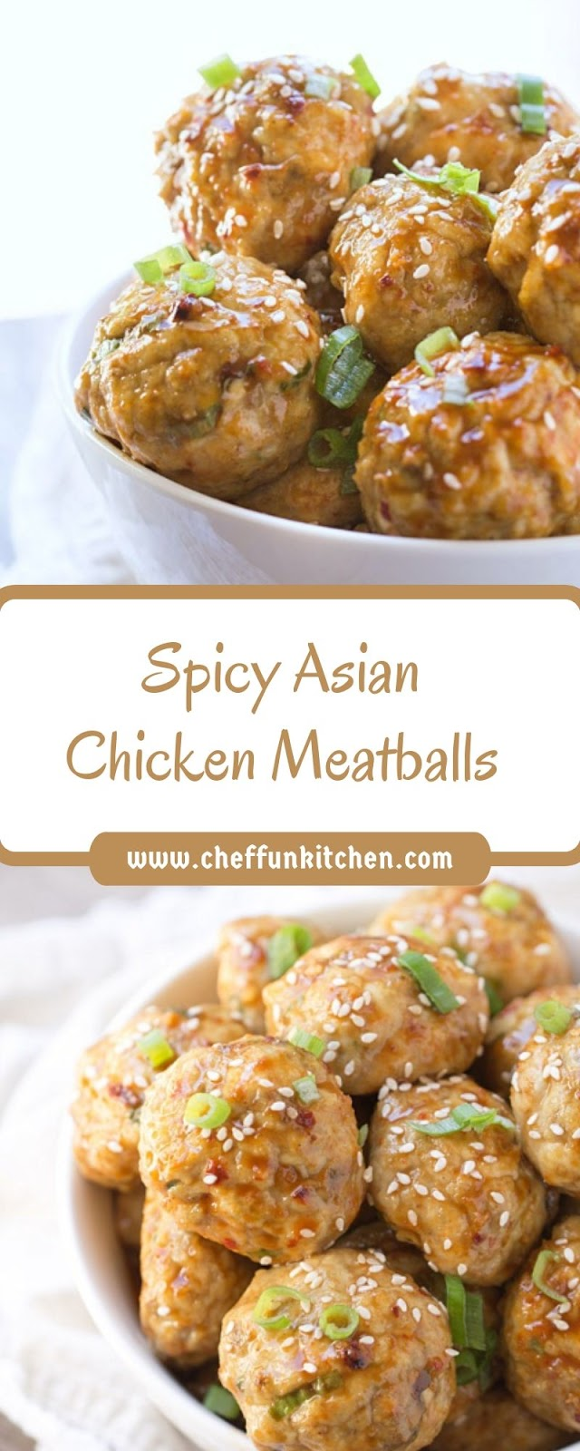 Spicy Asian Chicken Meatballs