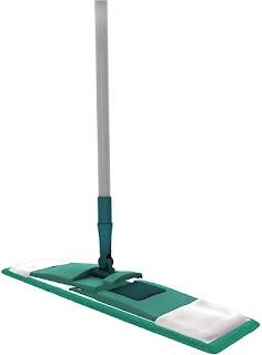 Mop Flat Microfibra, Refil Lavável, MOP7657, Verde, Flash Limp