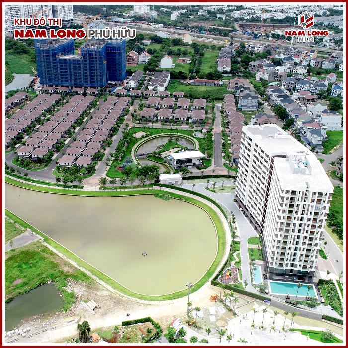 Tổng thể khu đô thị Nam Long Phú Hữu