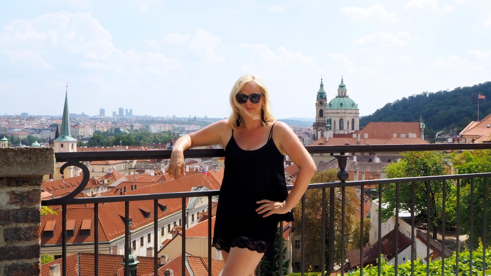 View from the Garden on the Ramparts at Prague Castle