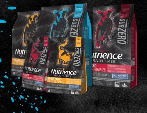 Nutrience Free Can SubZero Pet Food Coupon