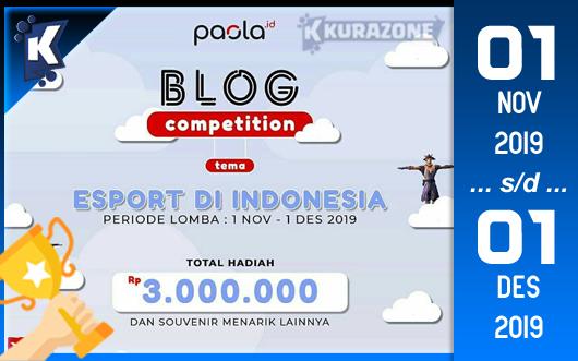 Kompetisi Blog - Paola Berhadiah Total Uang Tunai 3 Juta Rupiah + Souvenir