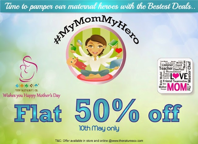 The Nature's Co. Mother's Day - Flat 50% off