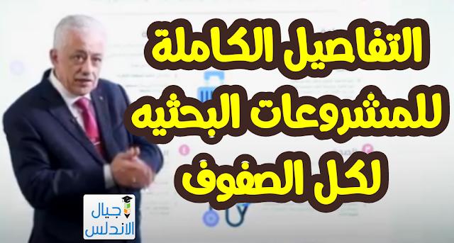 عاجل وزير التعليم يعلن موضوعات المشروعات البحثية لكل الصفوف