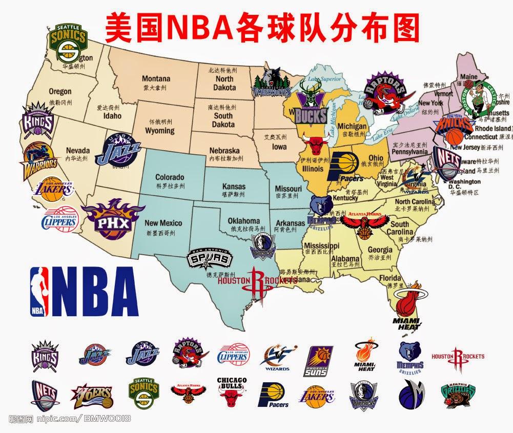 karta över seattle Sportgrafikbloggen: 27 okt: Dags för starten av NBA karta över seattle